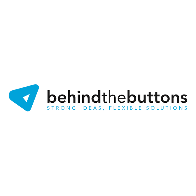 logo Behind The Buttons